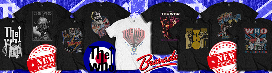 The Who official merch