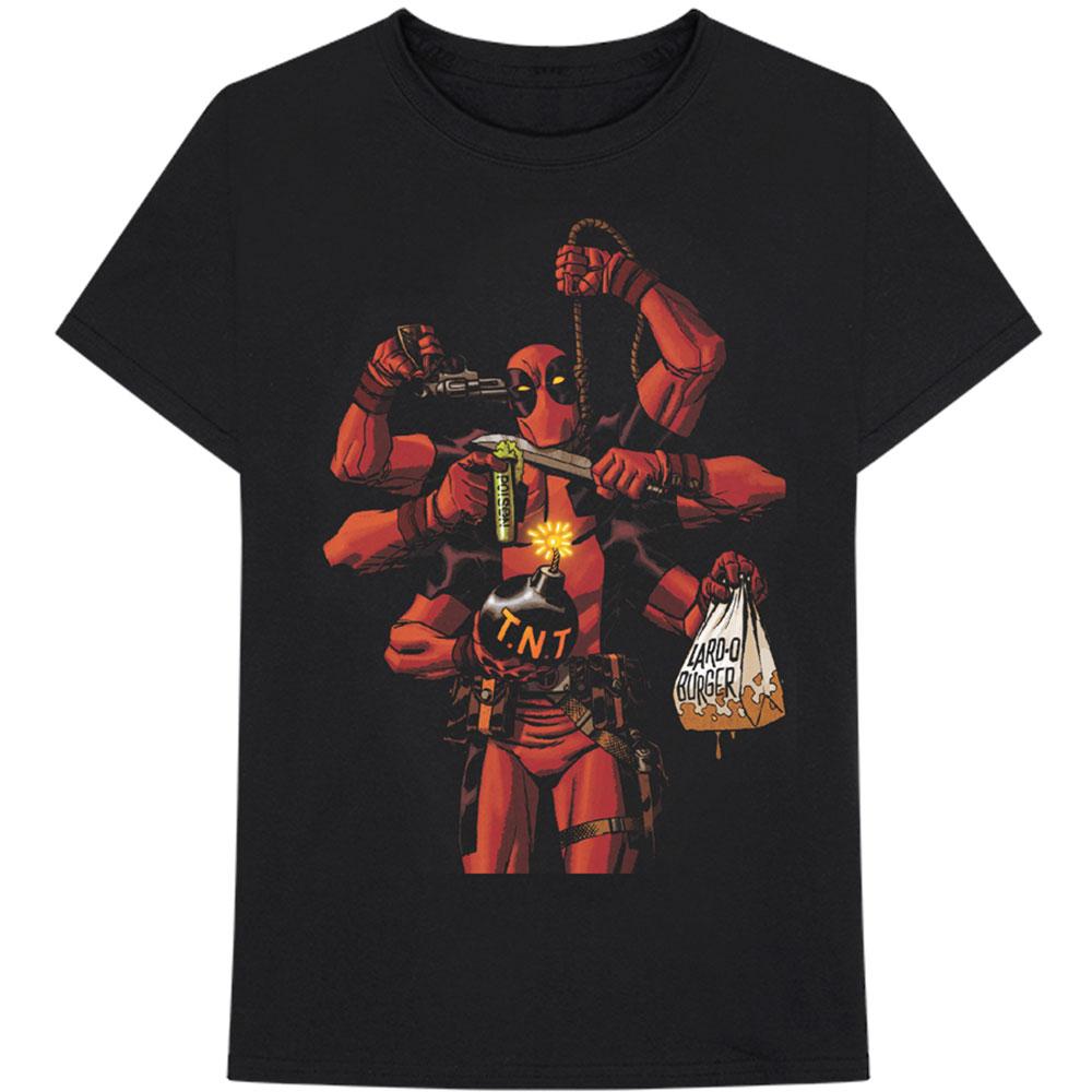 7418b5e19250 Tričko Marvel - Deadpool - Deadpool Arms