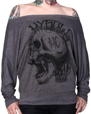 dd8350cb9ea3 Dámske tričko dlhý rukáv Hyraw - PUNK SHIT