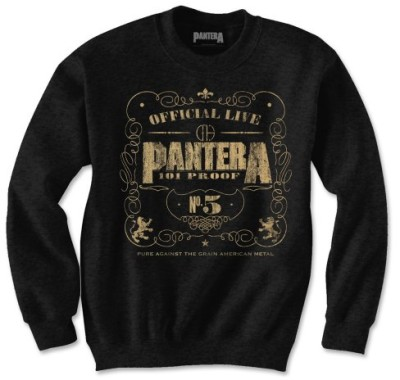 Sweatshirt Pantera - 101' Proof