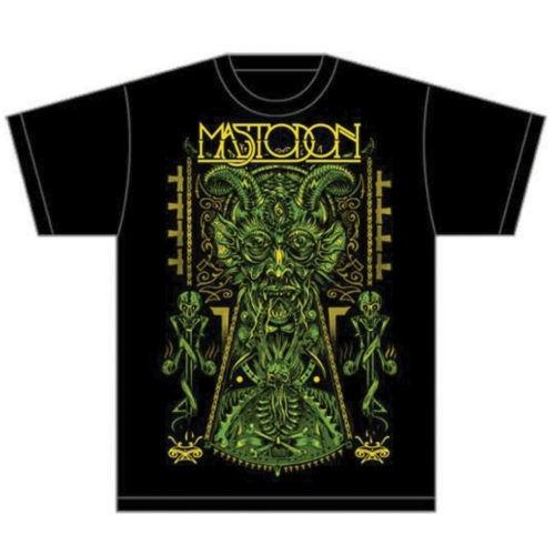 Tričko Mastodon - Devil on Black
