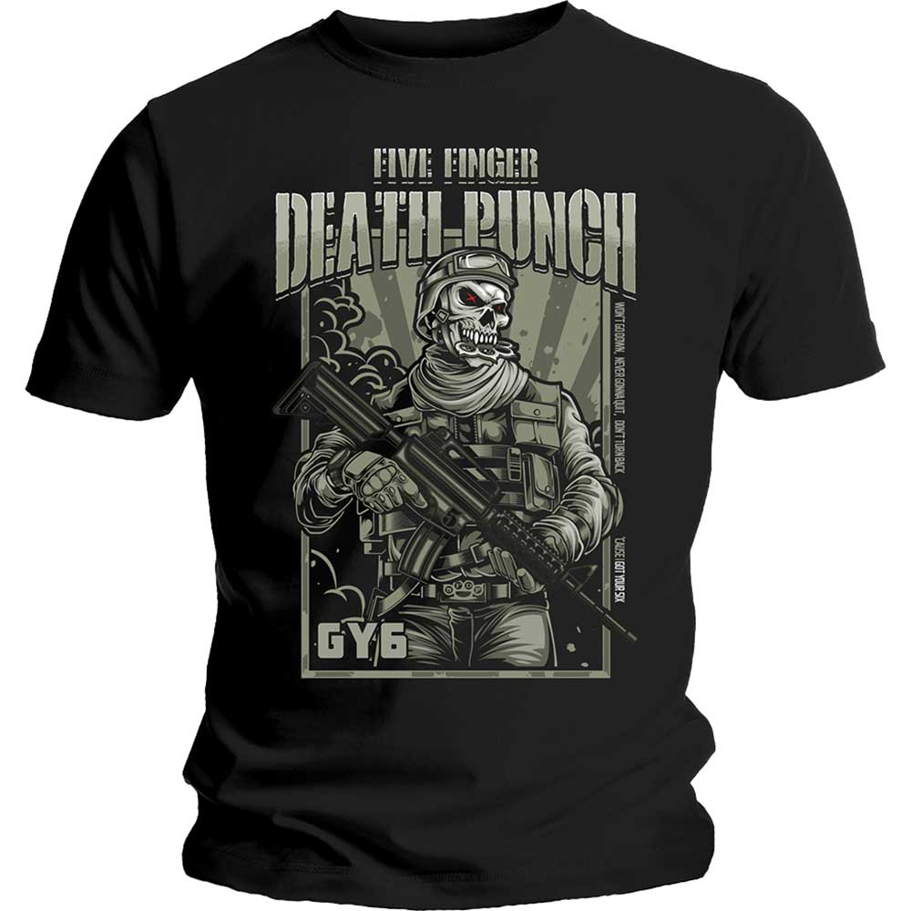 7a3e6ea83a50 Tričko Five Finger Death Punch - War Soldier