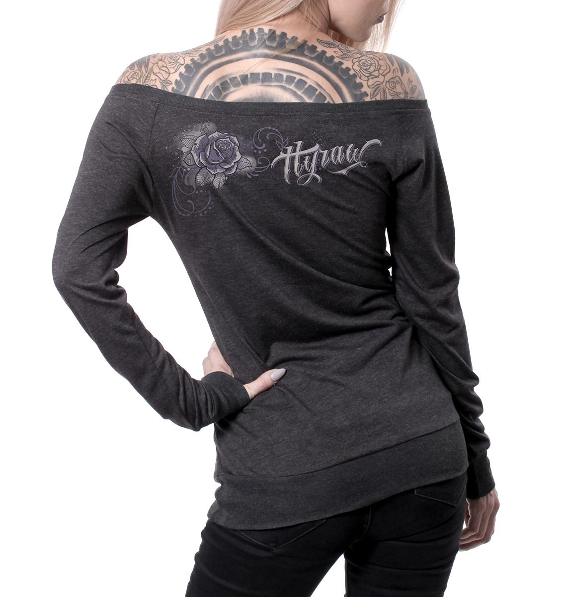 9b8e944ee5a4 Dámske tričko dlhý rukáv Hyraw CRANEO
