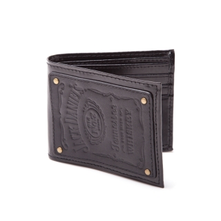 Peňaženka - Jack Daniels - Bifold Wallet with Leather Patch