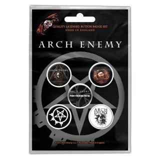 Set odznakov - Arch Enemy - Will To Power