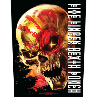 Veľká nášivka Five Finger Death Punch - And Justice for None