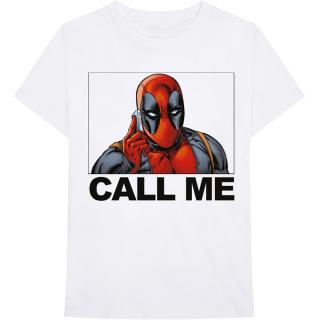 42114e2050f5 Tričko Marvel - Deadpool - Deadpool Call Me empty