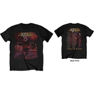 Tričko Anthrax - Bloody Eagle World Tour 2018 (Ex Tour/Back Print)