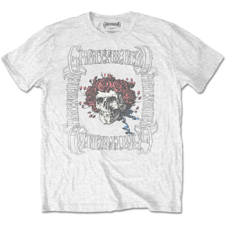 Tričko Grateful Dead - Bertha with Logo Box /white/