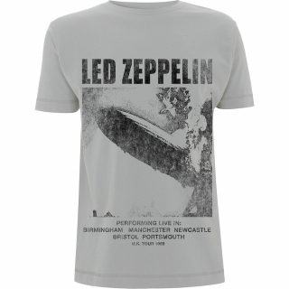 Tričko Led Zeppelin - UK Tour '69 LZ1.