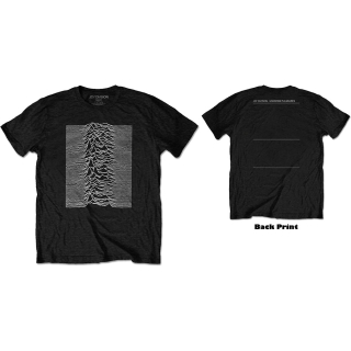 Tričko Joy Division - Unknown Pleasures (Back Print)