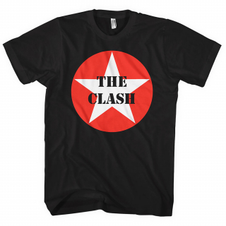 Tričko The Clash - Star Badge