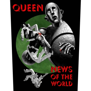 Veľká nášivka - Queen - News of the World