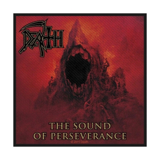 Malá nášivka Death - Sound of Perseverance