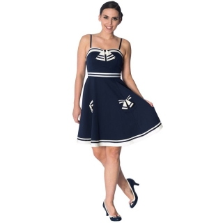 Dancing Days Vintage šaty - Set Sail Strappy