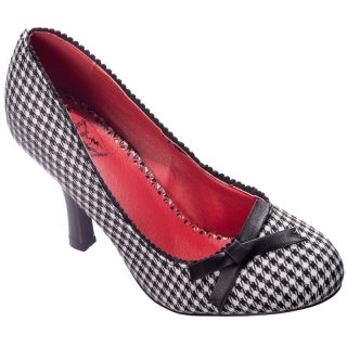 Lodičky Dancing Days - String Of Pearl Houndstooth