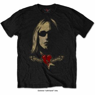 Tričko Tom Petty & The Heartbreakers - Shades & Logo