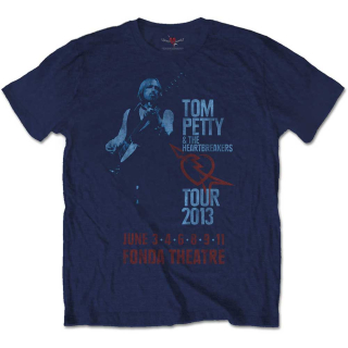 Tričko Tom Petty & The Heartbreakers - Fonda Theatre