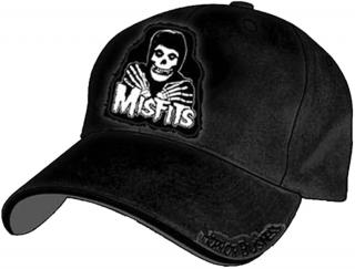 Šiltovka - Misfits - Black Adjustable Cap