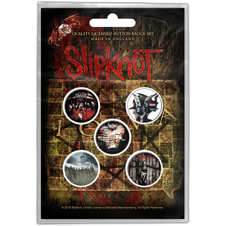 Set odznakov - Slipknot - Albums
