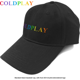 Šiltovka Coldplay - Rainbow Logo