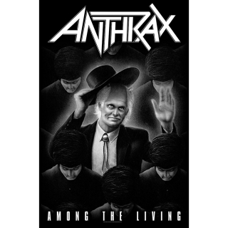 Textilný plagát Anthrax - Among The Living