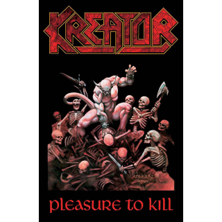 Textilný plagát Kreator - Pleasure To Kill