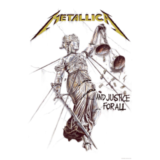 Textilný plagát Metallica - And Justice for All