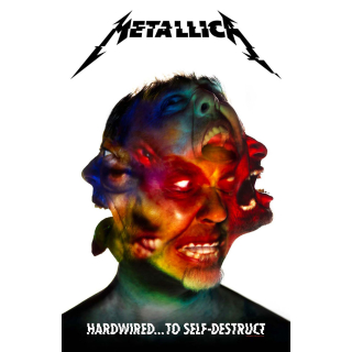 Textilný plagát Metallica - Hardwired To Self Destruct
