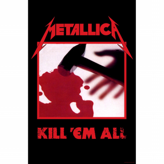Textilný plagát Metallica - Kill Em All
