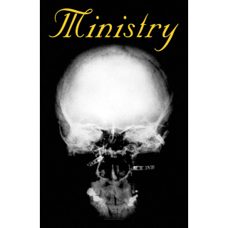 Textilny plagát Ministry - Mind Is A Terrible Thing To Taste