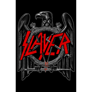 Textilný plagát Slayer - Black Eagle