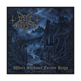 Malá nášivka Dark Funeral - Where Shadows Forever Reign