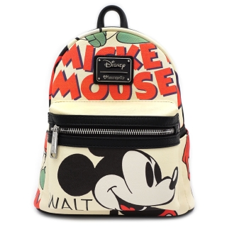 Mini batoh Loungefly - Disney - Mickey Classic