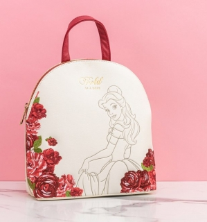Mini batoh Loungefly - Disney - Beauty and the Beast - Belle