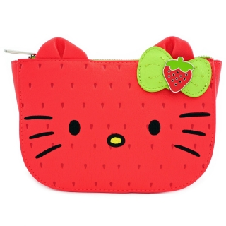 Taštička/ľadvinka Loungefly Hello Kitty - Kitty Strawberry