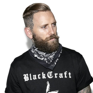 Bandana/šatka Blackcraft Cult - BIYS Baroque