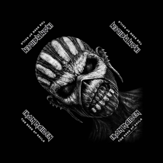 Bandana/šatka - Iron Maiden - The Book Of Souls