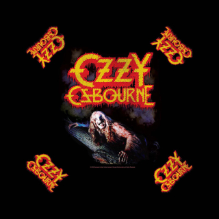 Bandana/šatka - Ozzy Osbourne - Bark At The Moon