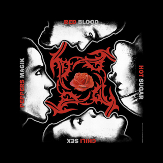 Bandana/šatka - Red Hot Chili Peppers - Blood Sugar Sex Magik