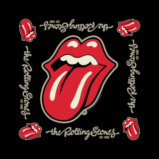 Bandana/šatka - The Rolling Stones - Established 1962