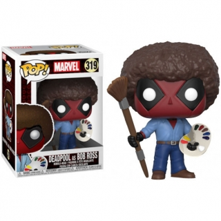 Figúrka Funko Pop - Marvel Deadpool Parody Deadpool Bob Ross