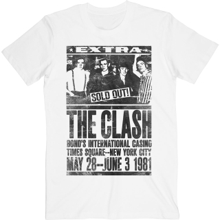 Tričko The Clash - Bond's 1981