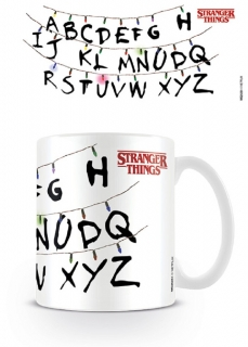 Hrnček Stranger Things - Letters