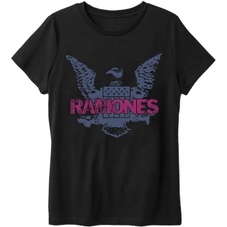 Tričko Ramones - Purple Eagle