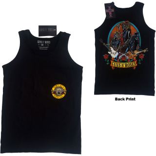 Tielko Guns N' Roses - Skeleton Performance (EX-TOUR/BACK PRINT)