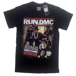 Tričko Run DMC - King of Rock Homage