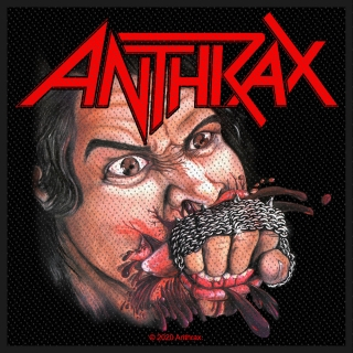 Malá nášivka Anthrax - Fistful of Metal