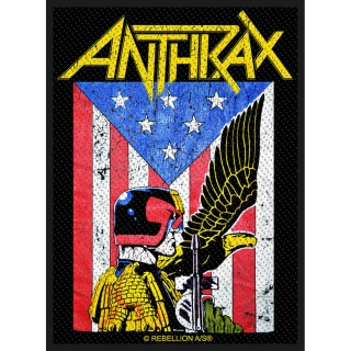 Malá nášivka Anthrax - Judge Dredd