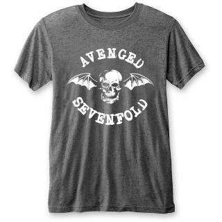 Fashion tričko Avenged Sevenfold - Deathbat (Burn Out)